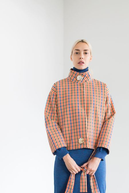 Samuji Amaka Jacket - Orange/Blue/Green
