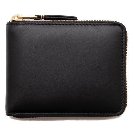 Comme des Garçons COMME des GARÇONS Full Zip Wallet Classic Leather Line - Black