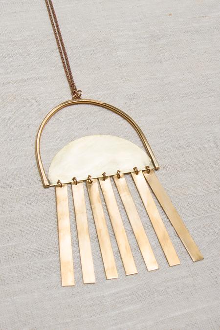 Alchemilla Sunbeam Necklace