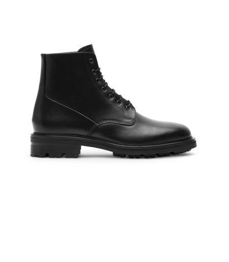 Wings + Horns Officer Boot - Black
