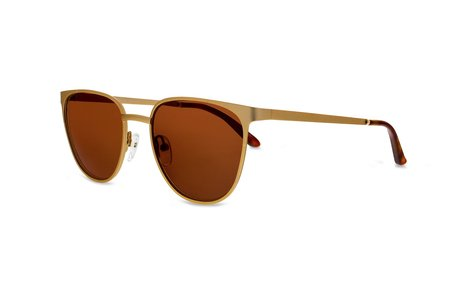 Smoke x Mirrors Money sunglasses - MATTE GOLD