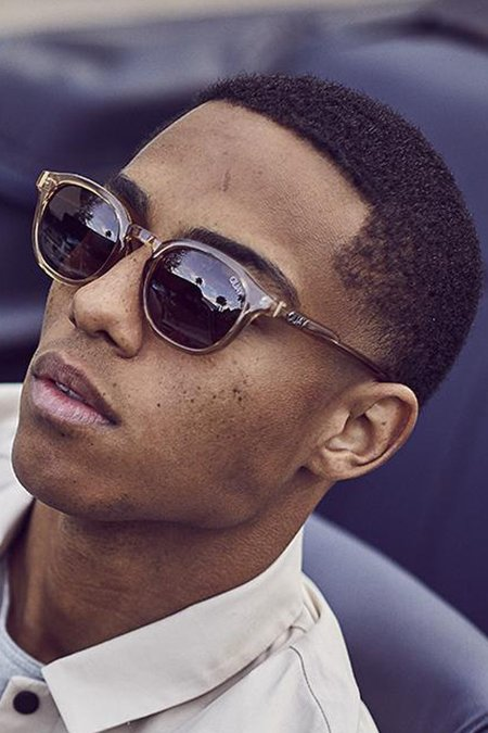 quay walk on sunglasses - toffe-brown