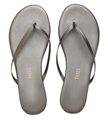 TKEES Shadows Flip Flops - Frosty Grey