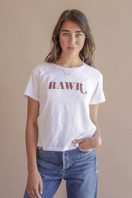 LNA Rawr Tee - White