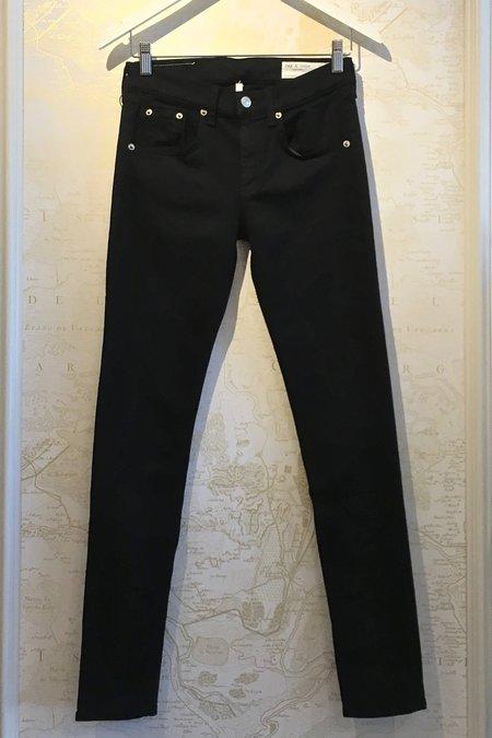 Rag & Bone 'Skinny' Jean - black