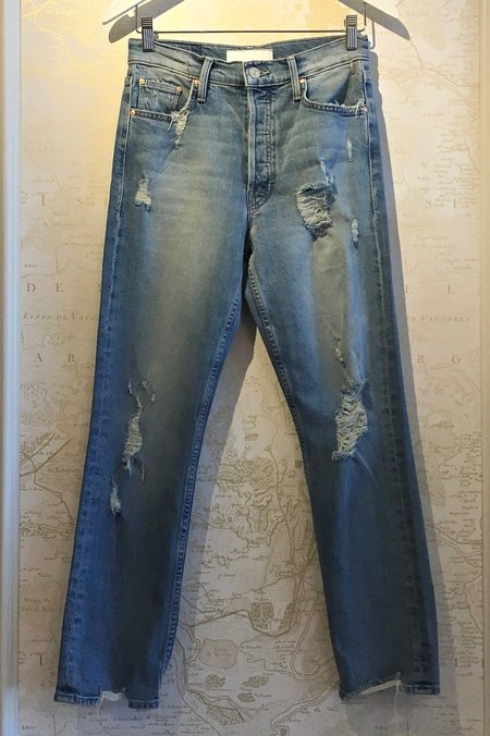 Mother Denim Tomcat Ankle Denim Jeans - Quite Contrary