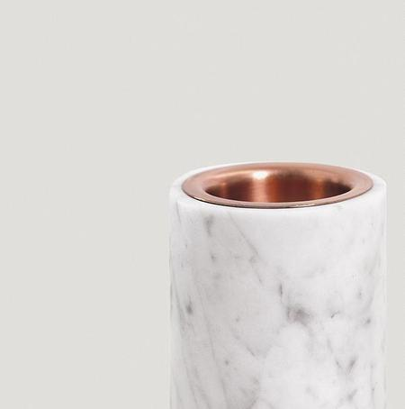 addition studios synergy oil diffuser - carrara marble