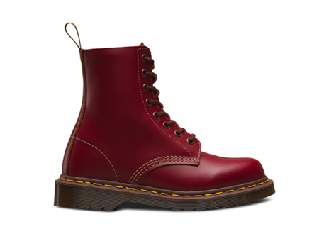 Unisex Doc Marten 1460 Vintage Made in England boot - Oxblood