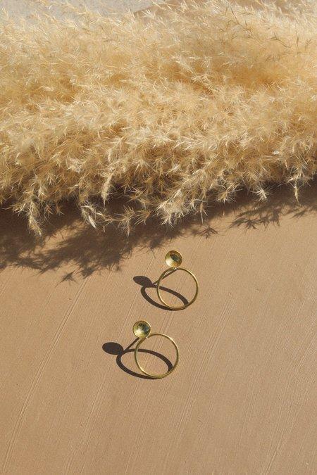 Mahnal Lunar Basin Earrings