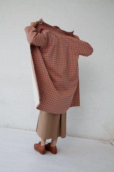Samuji Amabel Coat - Orange/Blue/Green