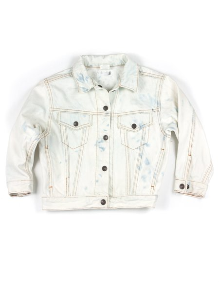 Kids L.A.S Collective Vintage Hand-Painted Aloha Jean Jacket - 6T