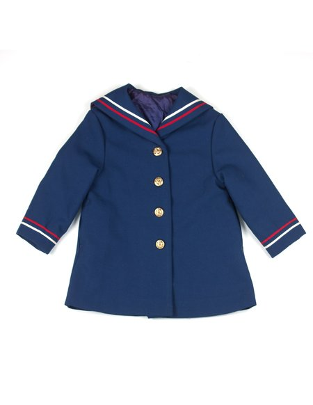 Kids L.A.S Collective Vintage Hand-painted Girls State Coat - 3T