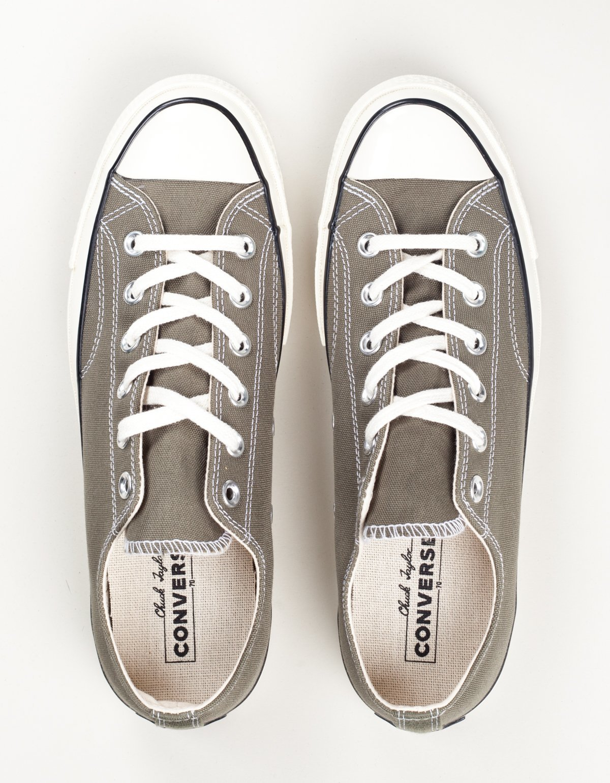 Converse Chuck 70 Low Top Sneakers - Field Surplus Black Egret ... f3a902782
