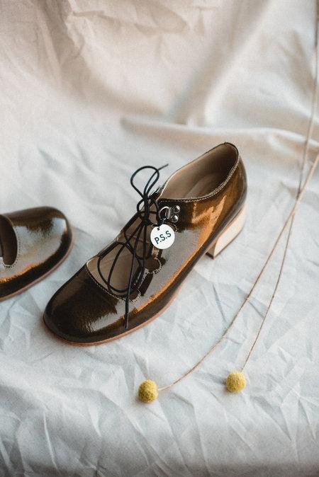 Post Sole Studio Dance Shoe - Bronze Patent