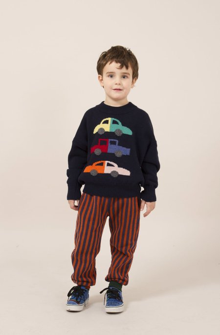 Kids Bobo Choses Cars Merino Sweater