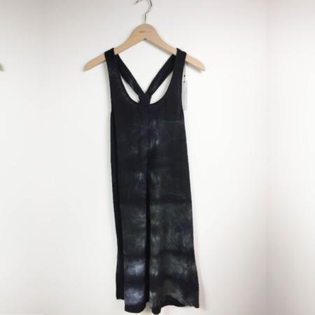 Majestic Linen Tie-Dye Racerback Mini Dress