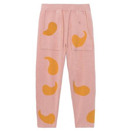 kids Bobo Choses Knitted Pants - Pink/orange