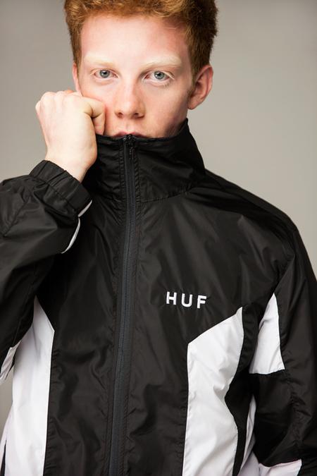 HUF Arena Track Jacket - BLACK
