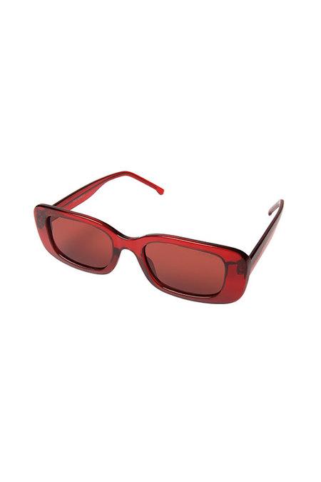 KOMONO Marco Sunglasses - Red