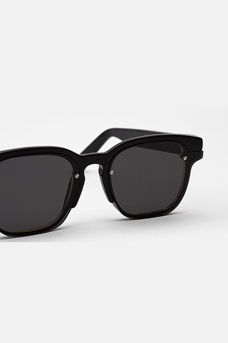 Unisex Retrosuperfuture Euclid Sunglasses - Black
