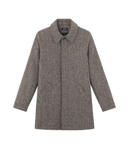 A.P.C. Sera Coat - Charcoal Grey