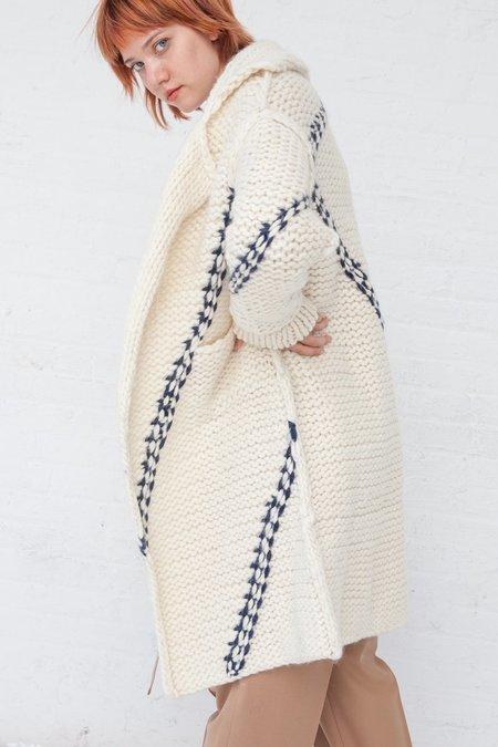 Tomorrowland Long Coat - White