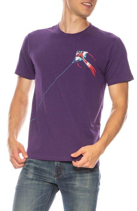TEE LIBRARY Kite T-Shirt - Purple