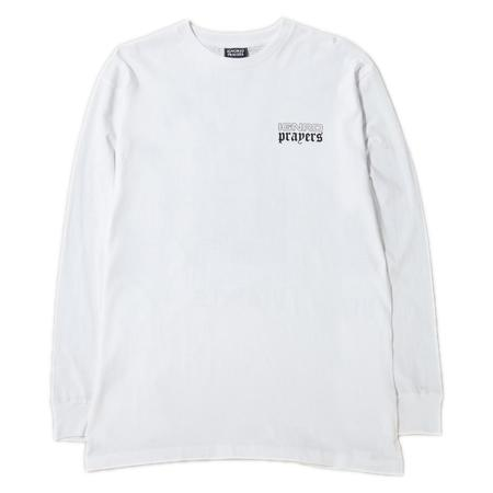 Ignored Prayers Lucy Long Sleeve T-shirt - White