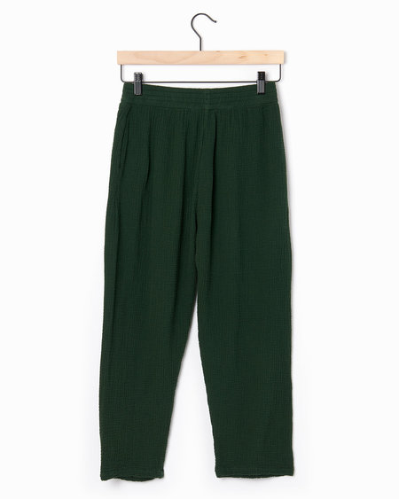 Alasdair Lina Gauze Pants - emerald
