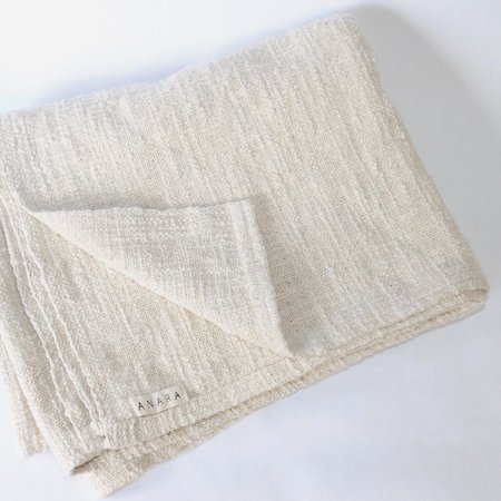 KIDS Anara Petite Blanket - Ecru