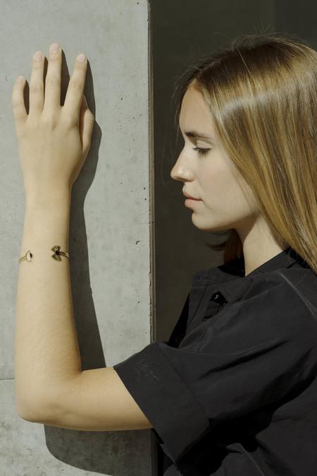 Anne Thomas Medusa Bracelet - Black