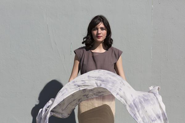 Miranda Bennett  Dapple Silk & Wool Wrap