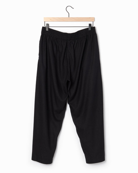 Alasdair Lina Silk Pants - black