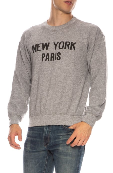 Rxmance New York Paris Sweatshirt - Heather Grey