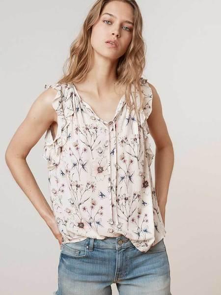 Velvet Marisol Top - Flora