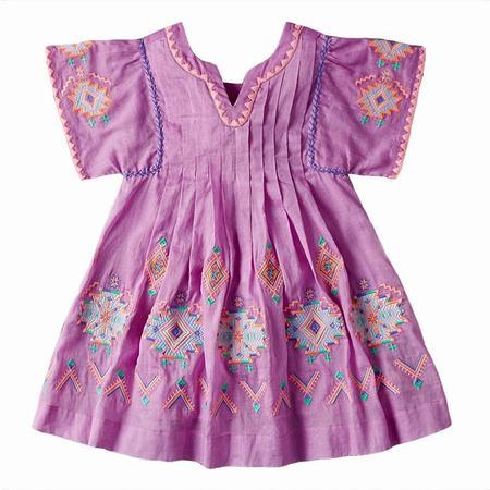 KIDS Nellystella Ava Dress - Lavender Magenta