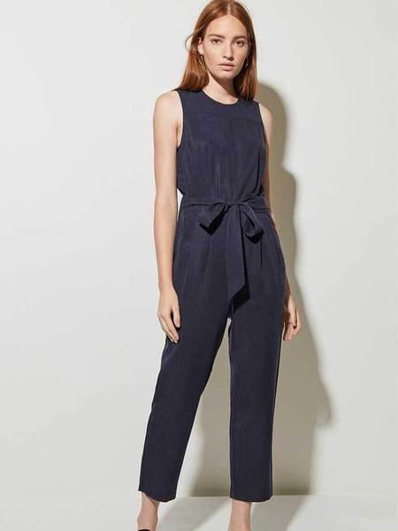 Great Plains Belted Jumpsuit - Midnight