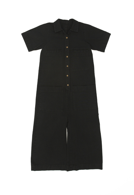 Ilana Kohn Mabel Coverall in Inky Canvas