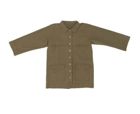 Ilana Kohn Mabel Jacket in Umber Canvas