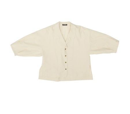 Ilana Kohn Harrison Shirt in Natural Twill