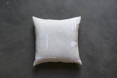 Kessler Dean Dot Block Print Pillow