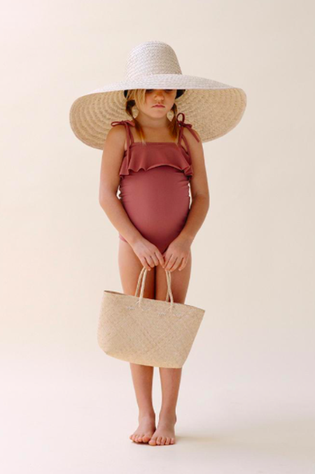 KIDS Daughter Co Maja Swimsuit - Rose