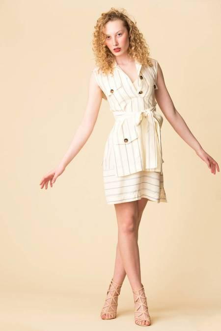 Derek Lam S/L Utility Dress - LINEN