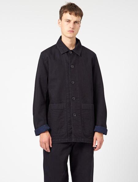 Other Mens Neville Work Jacket - black/blue