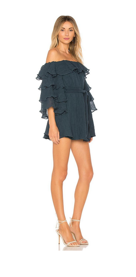 C/Meo Collective Sacrifices Mini Dress - TEAL
