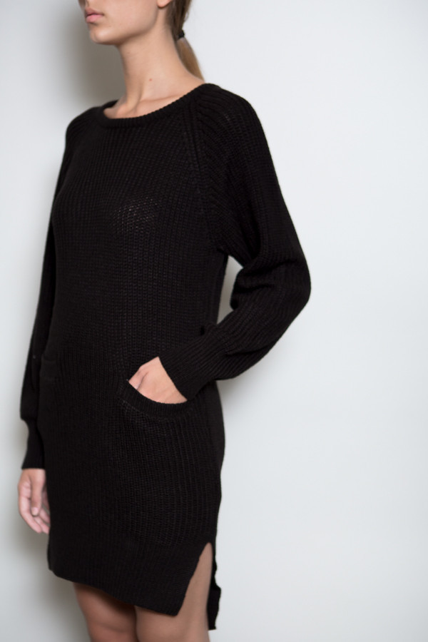 Callahan Crewneck Pocket Dress