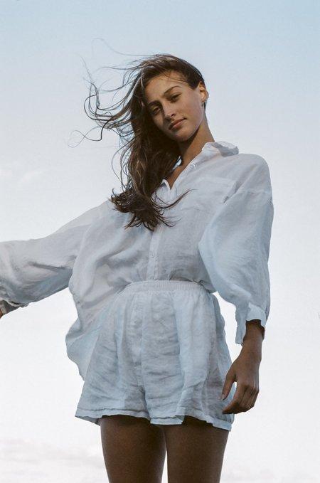 Deiji Studios Deiji Loungewear Set - White