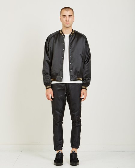 Stampd Coaches Baseball Jacket - Black