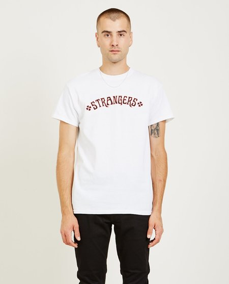 Strangers Heartbreakers Tee - White