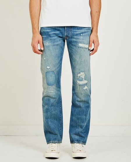 d8786f1b94 ... Levi s Vintage Clothing 1947 501 Jeans - Tear Up
